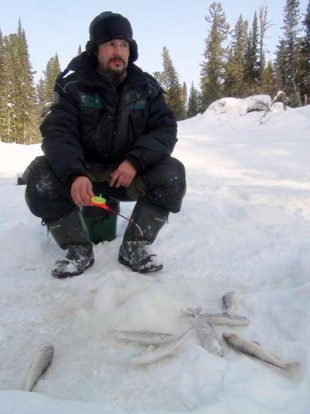 Рыбалка на хариуса зимой пермский край