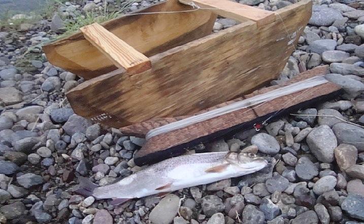 для ловли рыбы на умбе кораблик сделать фото