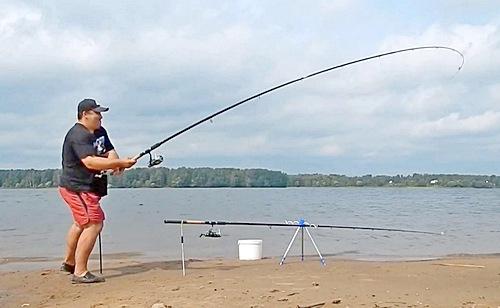 Рыбалка на волге под калязиным