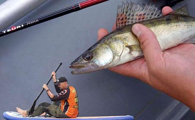 Когда рыба не клюёт, выручает микроджиг