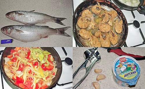 рыбачкий рецепт рыбы в сметане
